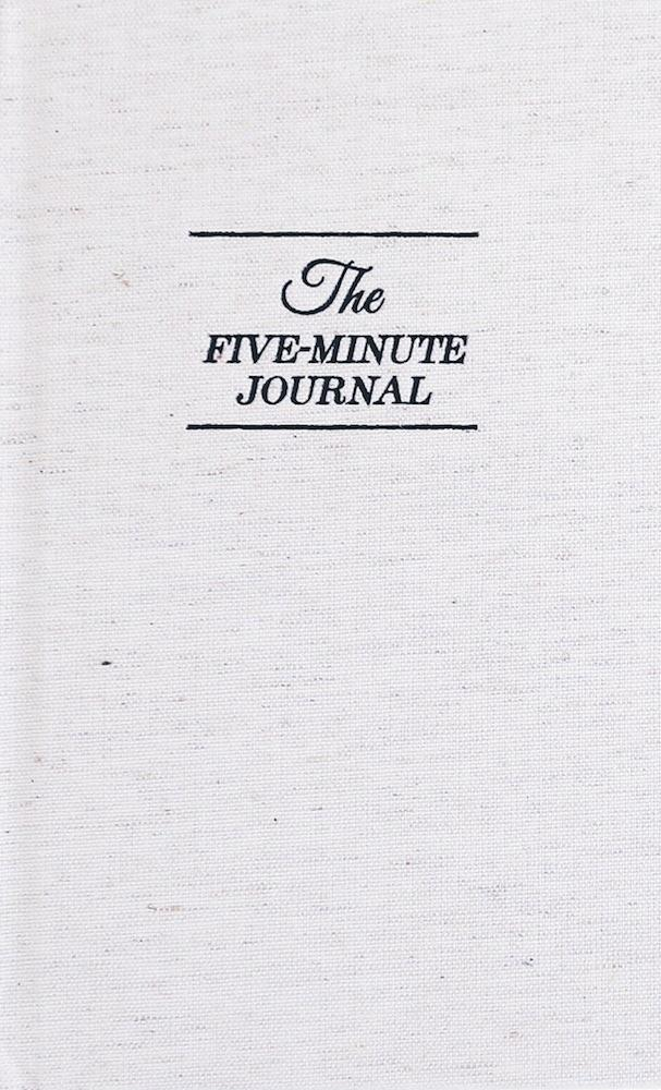 Justmind.de The Five Minute Journal