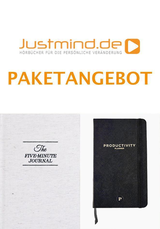 Sachthemen 5 Minute Journal + Productivity Planner (Paketangebot)