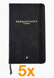 5 x Productivity Planner (Paketangebot)